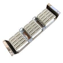 安必通 VDF-150 19英寸机架式不锈钢电话线架 含纯铜卡接模块 150对