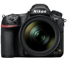 尼康(Nikon)D850 单反数码照相套机(AF-S 24-70mm f/2.8E ED VR 防抖镜头)含包、手柄、电池、UV镜、三脚架