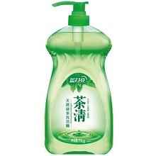 蓝月亮 茶清 天然绿茶洗洁精 1kg/瓶