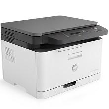 惠普(HP)Color Laser MFP 178nw 多功能一体机 锐系列A4彩色激光打印/复印/扫描有线无线网络版 单台 白色