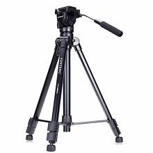 云腾(YUNTENG)VCT-880 摄相机三脚架 黑色