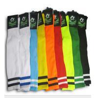 速锐达 长筒毛巾底足球袜 吸湿防滑加厚 条纹过膝 颜色备注