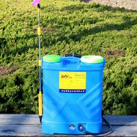 海象人 双泵高压电动喷雾器 12V锂电池 背负式