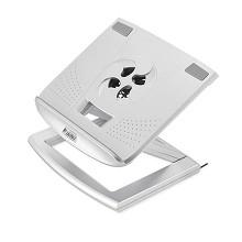 安尚(ACTTO)NBS-18 笔记本电脑托架 风冷散热器支架 单个 银色