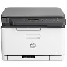 惠普(HP)Color Laser MFP 178nw A4彩色激光多功能一体机 打印/复印/扫描 支持有线/无线网络打印 18页/分钟 手动双面打印 适用耗材:W2080A/81A/82A/83A/W1132A 一年保修