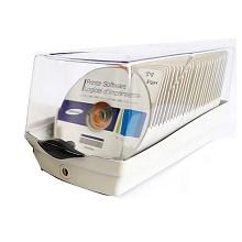 安尚(ACTTO)CDC-50K 50片装CD收纳盒 透明