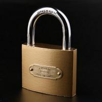 桂凤 25mm仿铜防锈挂锁 配2把钥匙