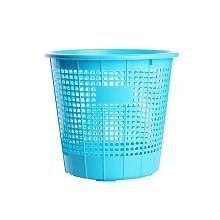 茶花(CHAHUA)1205 中號廢紙簍 圓形 單個裝 顏色隨機