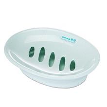 茶花(CHAHUA)2230 衛生皂盒 雙層瀝水 單個裝 顏色隨機