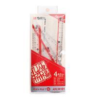 晨光(M&G)20文具用品套装 包含文艺拉边袋 纸套本 套尺