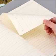 晨光(M&G)APY4K380 B5 124页皮面软抄本记事日记笔记本子 单本装 黑色