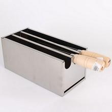 迪卡 不锈钢多格刀具刀盒 酒店厨房刀具架
