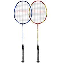 李宁(LI-NING)A618 羽毛球拍双拍2支全碳素对拍超轻专业初学羽拍套装(已穿线)