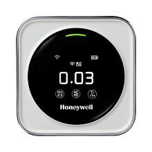 霍尼韦尔(Honeywell)HAQSPF PM2.5甲醛空气质量检测仪室内温度湿度检测器 WIFI联网APP操控车载家用空气侦探