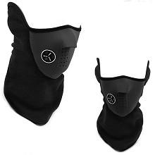 菲莱仕 FEIRSH L058 骑行口罩自行车装备防风防寒滑保暖CS护脸面罩 黑色