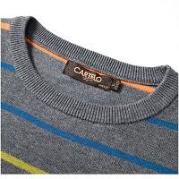 卡帝乐鳄鱼 (CARTELO) 16001KE0908 针织衫 圆领男士毛衣  枫叶红 L
