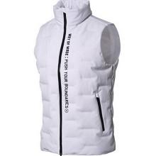 李宁 LI-NING 03 99401 男子保暖90%白鹅绒羽绒马甲标准白-3  AMRN035-3  XL