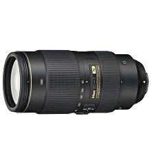 尼康(Nikon)AF-S 80-400mm f/4.5-5.6G ED VR 相機鏡頭 黑色
