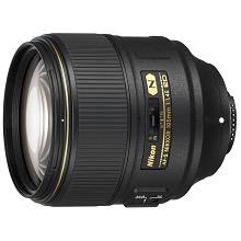 尼康(Nikon)AF-S 105mm F1.4E ED 相機鏡頭 黑色