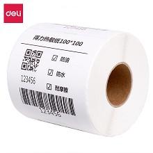 得力(deli) 12001 100*100mm三防热敏标签打印纸电子面单不干胶打印纸500张*1卷