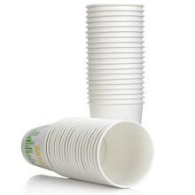 茶花  3124 一次性纸杯子无蜡淋膜225ml 四十支装