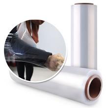 新越昌晖 E16001-2  PE缠绕膜包装膜 拉伸膜自粘性打包膜防水膜捆包膜 50cm宽 重约3.2公斤