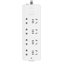 公牛(BULL)GN-403 总控八联 电源插座 10米 白色