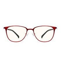 小米(MI)眼镜男女款 TS基础级防蓝光护目镜 米家定制版 红色镜架