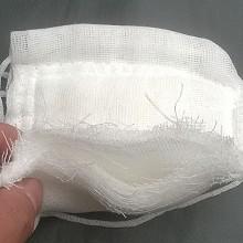 捷悦达 松紧挂耳棉纱布口罩 透气劳保防工业粉尘 可清洗