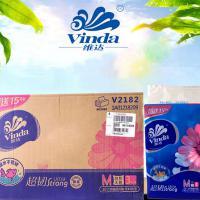 维达(Vinda)抽纸 家用婴儿餐巾纸 超韧3层 48包/箱