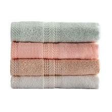 竹印象(BAMBOOIMPRESSION)zyx-01002 毛巾面巾 软盒 单套 颜色随机