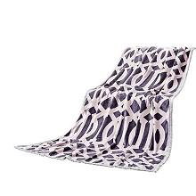 慕思 QSA1-048 四季毯 璞宿紫阁空间绒毯 单条 淡紫色
