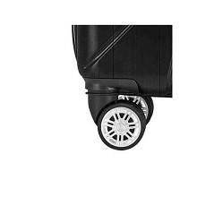 WRC W-B0888 24寸几何拉杆箱旅行箱 单个 黑银随机