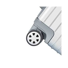WRC W-X0012 20寸铝框拉杆箱行李箱万向轮密码箱旅行箱 单个 银色
