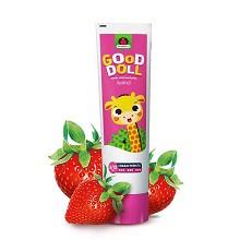 艾优(APIYOO)儿童护齿牙膏 1套 草莓味 粉色