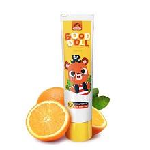 艾优(APIYOO)儿童护齿牙膏 1套 香橙味 黄色