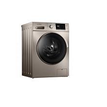 美的(Midea)MG80-1431DG 滚筒洗衣机 摩卡金
