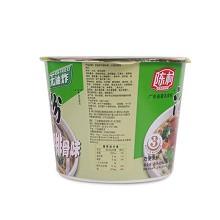 陈村河粉 汤粉宽粉粿条 100gX12桶 红烧排骨味 整箱装