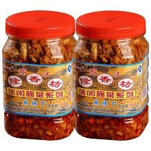 隆香坊 麻辣萝卜丁750g*2瓶