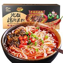 光友 绵阳米粉 牛肉米线 年货礼盒装 四川特产方便速食面酸辣粉 155g*3袋