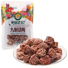 果园老农 话梅 蜜饯果干 休闲零食 九制话梅100g