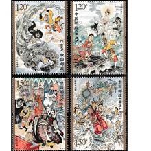 邮天下 古典名著系列邮票 2019年邮票 2019-6 西游记特种邮票 第三组  套票