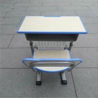 腾新 XSKZY01 学生课桌椅 单人位 600*400mm 卡其色