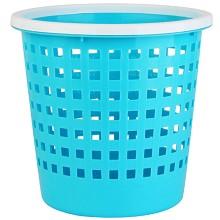 茶花 1210 塑料垃圾桶 家用衛生間廚房辦公室客廳垃圾桶雜物簍 廢紙簍