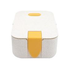 星橙 XC-357 麦秸秆悠立架饭盒 单个装 颜色随机