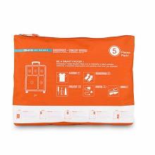 爱华仕(OIWAS)OCP1168 旅行收纳五件套 橙色