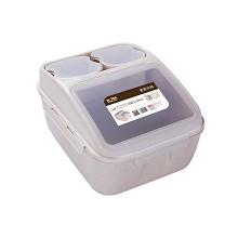 赫曼德(NOLTE)HMD-7101 整理箱 麦香米桶 单套 透明