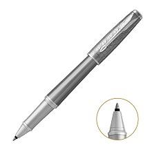 派克(PARKER)5123257 2016都市简影白夹宝珠笔 笔身黄铜 PVD 抛光 单支 亮光