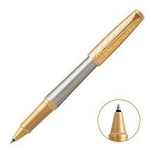 派克(PARKER)5123268 2016都市简影金夹宝珠笔 笔身阳极电镀铝 抛光 单支 亮光