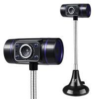 奥速(ASHU)V80 usb插头摄像头 支持Windows系统 带麦克风 夜视LED补光灯 最大分辨率640x480 颜色备注